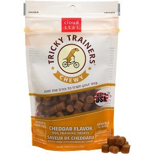 Cloud Star Chewy Tricky Trainers Cheddar Flavor Dog Treats, 5 oz.