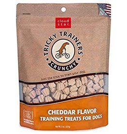 Cloud Star Crunchy Tricky Trainers Cheddar Flavor Dog Treats, 8 oz.