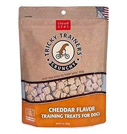 Cloud Star Crunchy Tricky Trainers Cheddar Flavor Dog Treats, 8 oz.