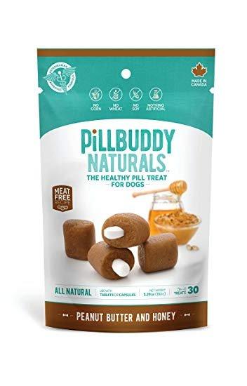 Presidio Pill Buddy Peanut Butter & Honey Recipe Dog Treats, 30 count