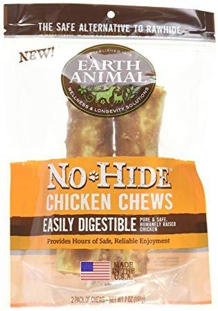 Earth Animal Individual No-Hide Chicken Dog Chews