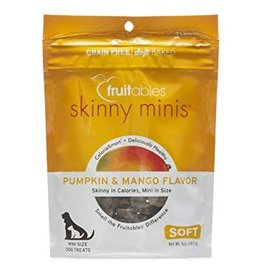 Fruitables Skinny Minis Pumpkin & Mango Soft & Chewy Dog Treats, 5 oz.