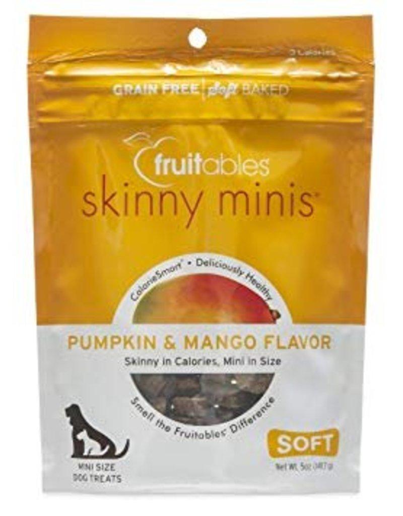 Fruitables Skinny Minis Pumpkin & Mango Soft & Chewy Dog Treats, 5 oz.