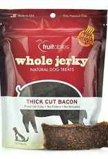 Fruitables Whole Jerky Thick Cut Bacon Dog Treats, 5 oz.