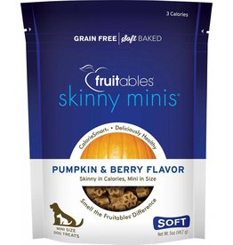 Fruitables Skinny Minis Pumpkin & Berry Soft & Chewy Dog Treats, 5 oz.