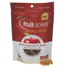 Fruitables Skinny Minis Apple & Bacon Soft & Chewy Dog Treats, 5 oz.