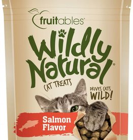 Fruitables Wildly Natural Salmon Flavor Cat Treats, 2.5 oz.