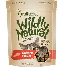 Fruitables Wildly Natural Salmon Flavor Cat Treats, 2.5 oz.