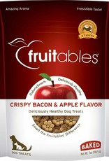 Fruitables Crispy Bacon & Apple Flavor Crunchy Dog Treats, 7 oz.