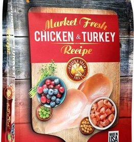 Fussie Cat Market Fresh Chicken & Turkey Recipe Grain-Free Dry Cat Food