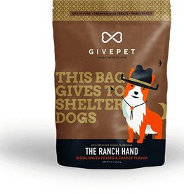 Give Pet The Ranch Hand Bison, Baked Potato & Carrot Flavor Dog Treats, 12 oz.
