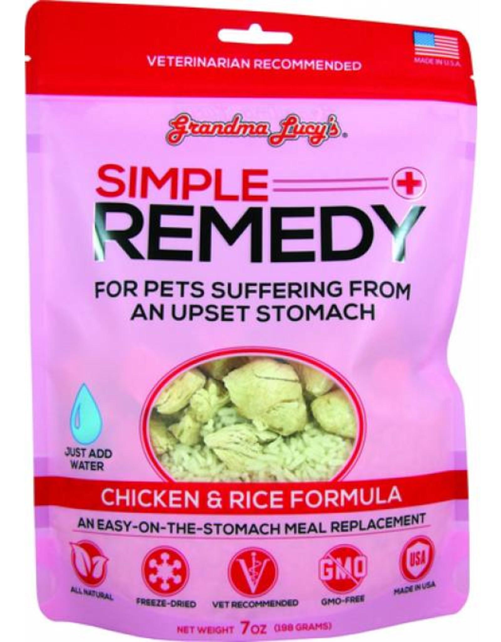 Grandma Lucy's Simple Remedy Chicken & Rice, 7 oz.