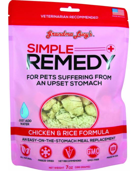 Grandma Lucy's Simple Remedy Chicken & Rice, 7 oz.