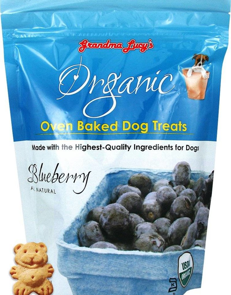 Grandma Lucy's Organic Blueberry Oven Baked Dog Treats, 14 oz.