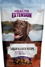 Health Extension Bully Puffs Bacon & Liver Grain-Free Dog Treats, 5 oz