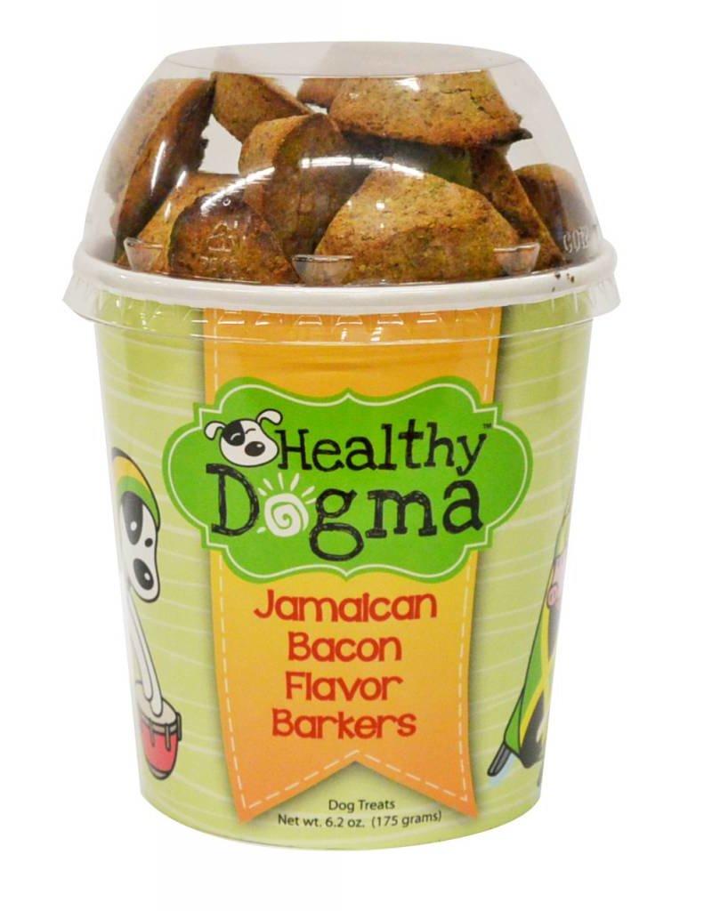 Healthy Dogma Jamaican Bacon Barkers Cup, 6.2 oz.