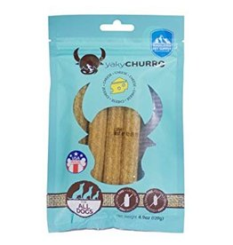 Himalayan Dog Chew Yaky Churro Cheese Dog Treats, 4 pack