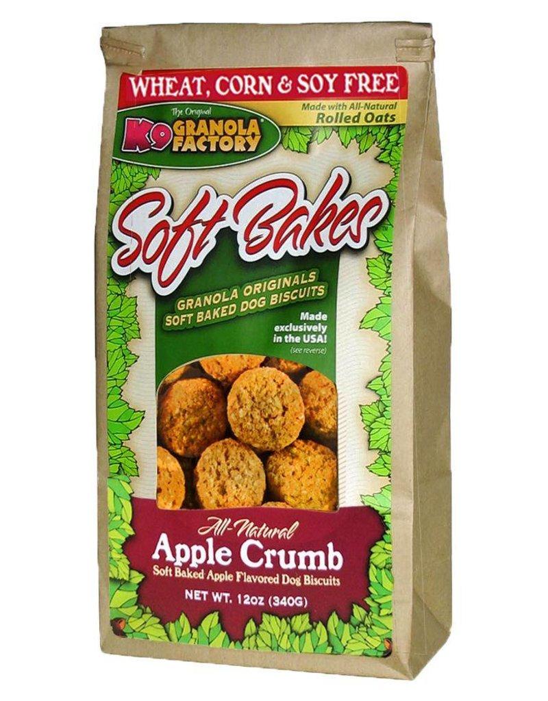 K9 Granola Soft Bakes Apple Crumb Dog Treats, 12 oz.
