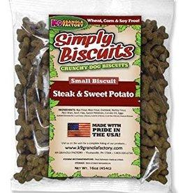 K9 Granola Bulk Steak & Sweet Potato Small Biscuit