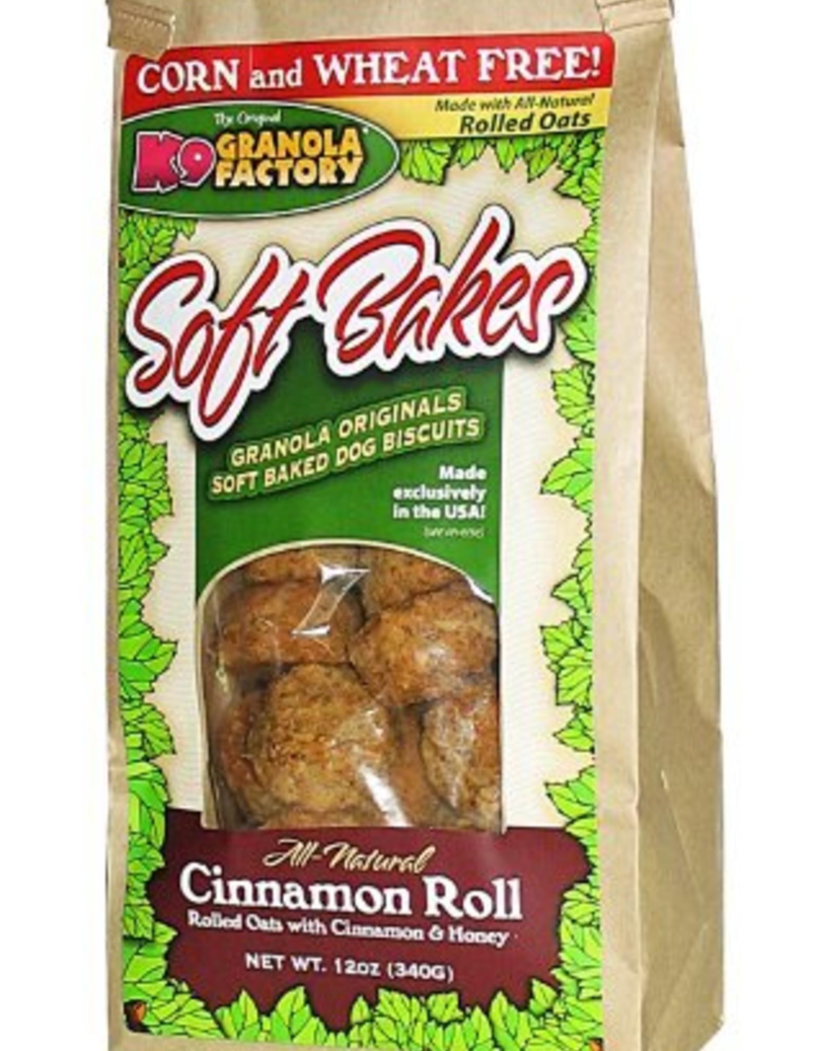 K9 Granola Soft Bakes Cinnamon Roll Dog Treats, 12 oz.