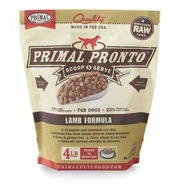 Primal Pronto Raw Frozen Canine Lamb Formula, 4 lb.