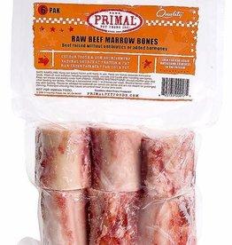 """Primal Frozen Beef Marrow Bones 2"""", 6 pack"""