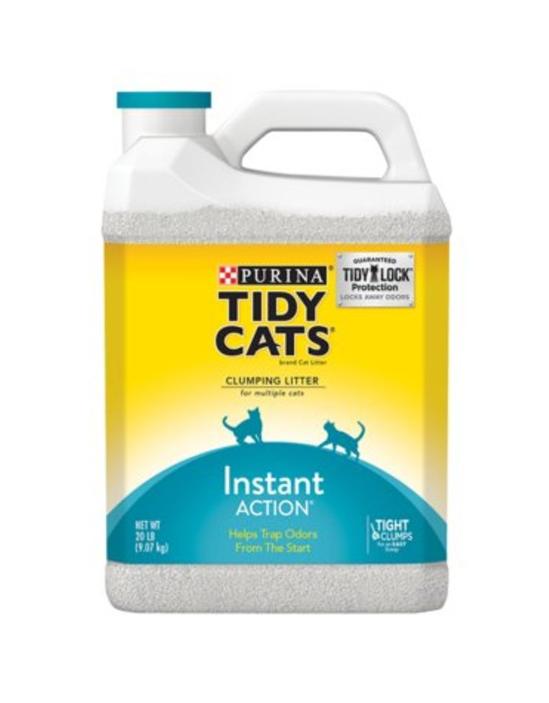 Tidy Cats Instant Action Clumping Litter for Multiple Cats, 20 lb.