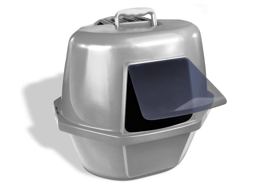 Van Ness Covered Corner Cat Litter Pan