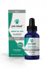 Pet Releaf Hemp Oil 330 for Dogs & Cats