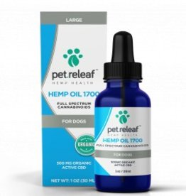 Pet Releaf Hemp Oil 1700