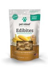 Pet Releaf Peanut Butter & Banana Edibites Large Breed, 30 pieces