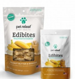 Pet Releaf Peanut Butter & Banana Edibites, 30 pieces