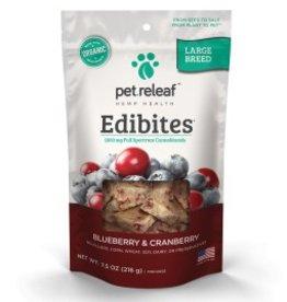 Pet Releaf Blueberry & Cranberry Edibites Large Breed, 30 pieces