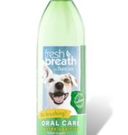 TropiClean Oral Care Water Additive for Cats & Dogs, 16 oz.