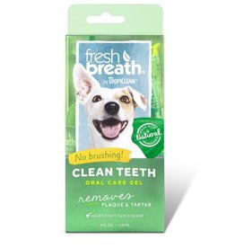 TropiClean Oral Care Gel Kit for Dogs, 4 oz.