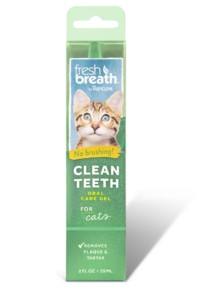 TropiClean Oral Care Gel Kit for Cats, 2 oz.