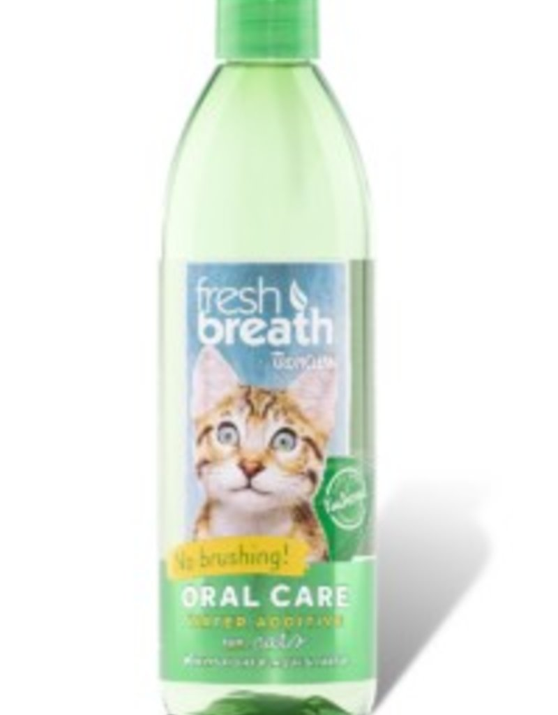 TropiClean Oral Care Water Additive for Cats, 16 oz.