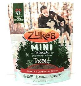 Zukes Zukes Mini Natural Trees Turkey & Cranberry Recipe Dog Treats 5 oz.
