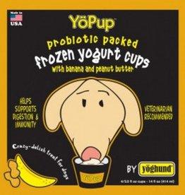 Yoghund Individual YoPup Banana & PB Frozen Yogurt