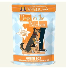 Weruva DITK Goldie Lox Dog Food Pouch, 2.8 oz.
