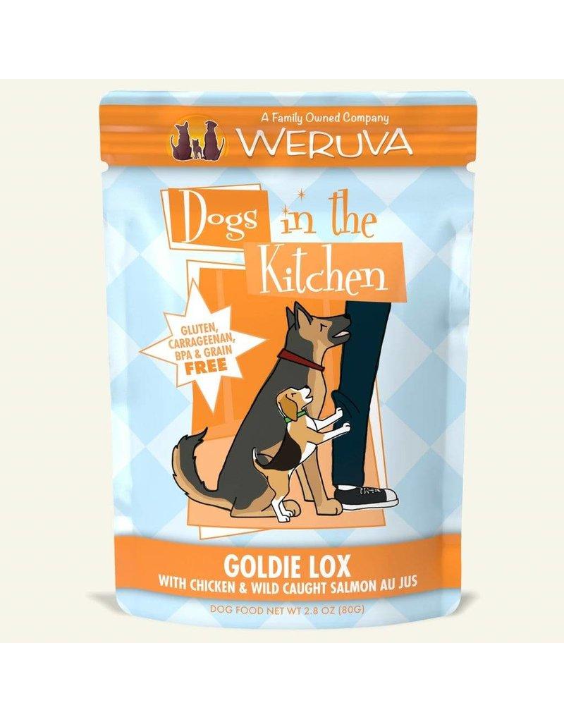 Weruva DITK Goldie Lox Dog Food Pouch, 2.8 oz.