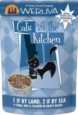 Weruva CITK 1 If By Land 2 If By Sea Cat Food Pouch, 3 oz.