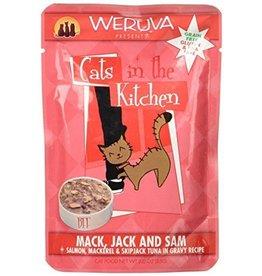 Weruva CITK Mack, Jack & Sam Cat Food Pouch, 3 oz.