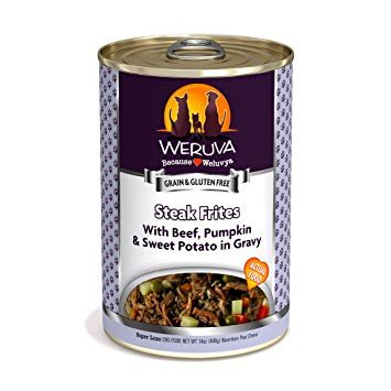 Weruva Steak Frites Dog Food Can, 14 oz.