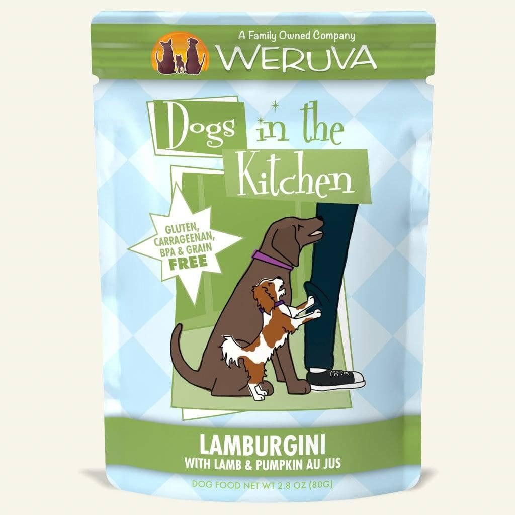 Weruva DITK Lamburgini Dog Food Pouch, 2.8 oz.