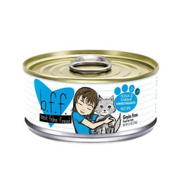 Weruva BFF Tuna & Shrimp Sweethearts Cat Food Can, 5.5 oz.
