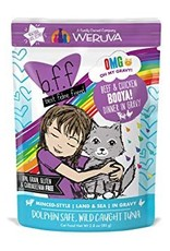 Weruva BFF OMG Beef & Chicken Booya Cat Food Pouch, 2.8 oz.