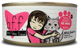 Weruva BFF Tuna Bon Be Mine Cat Food Can, 5.5 oz.