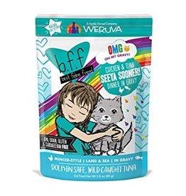 Weruva BFF OMG Seeya Sooner Cat Food Pouch, 2.8 oz.