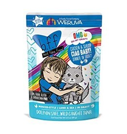 Weruva BFF OMG Chicken & Shrimp Ciao Baby Cat Food Pouch,  2.8 oz.